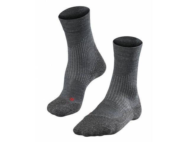 Falke M's Stabilizing Wool Socks Asphalt Melange
